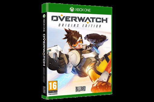 Диск с игрой Overwatch для xBox One
