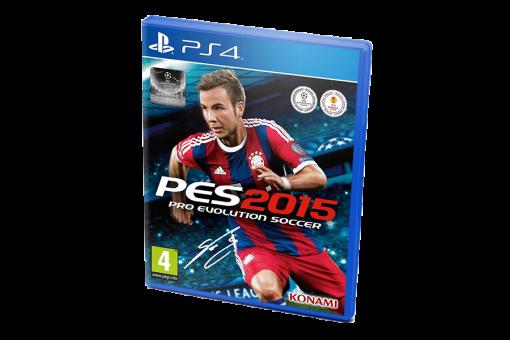 Диск с игрой Pro Evolution Soccer 2015 для PlayStation 4
