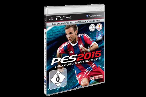 Диск с игрой Pro Evolution Soccer 2015