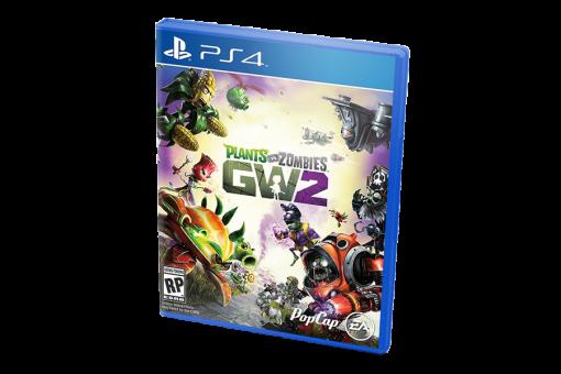 Диск с игрой Plants vs. Zombies: Garden Warfare 2 для PlayStation 4