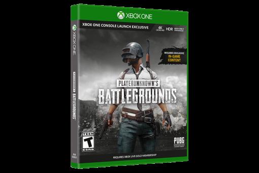 Диск с игрой PlayerUnknown's Battlegrounds