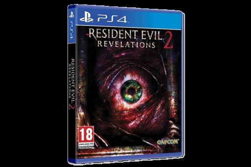 Диск с игрой Resident Evil: Revelations 2 для PlayStation 4