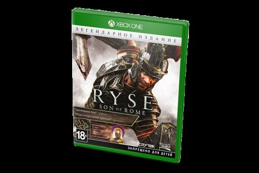 Диск с игрой Ryse: Son of Rome для xBox One