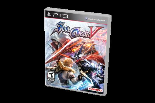 Диск с игрой Soulcalibur V