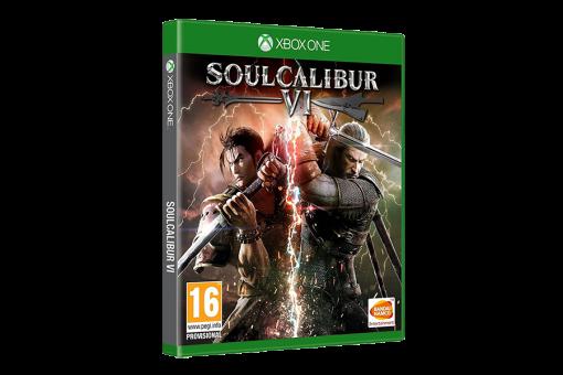 Диск с игрой Soulcalibur VI для xBox One