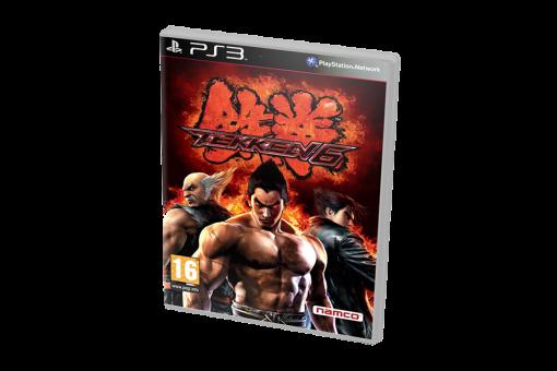 Диск с игрой Tekken 6