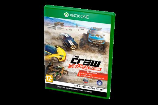 Диск с игрой The Crew: Wild Run для xBox One