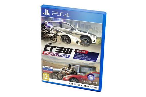 Диск с игрой The Crew Ultimate Edition для PlayStation 4