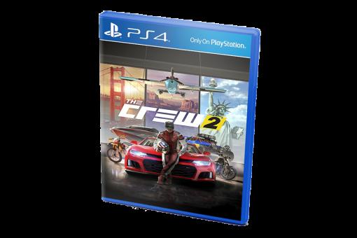 Диск с игрой The Crew 2 для PlayStation 4