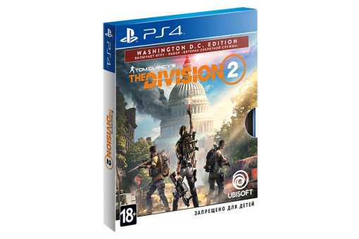 Диск с игрой Tom Clancy's The Division 2 для PlayStation 4