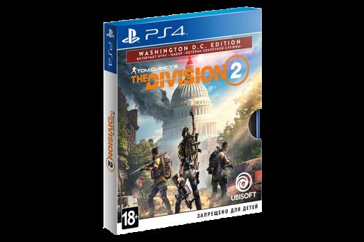 Диск с игрой Tom Clancy's The Division 2 для PlayStation 4