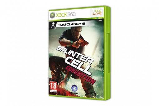 Диск с игрой Tom Clancy's Splinter Cell: Conviction