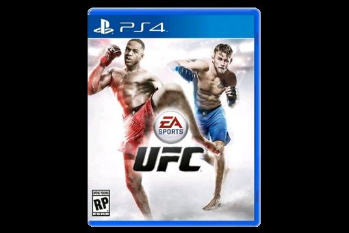 Диск с игрой UFC