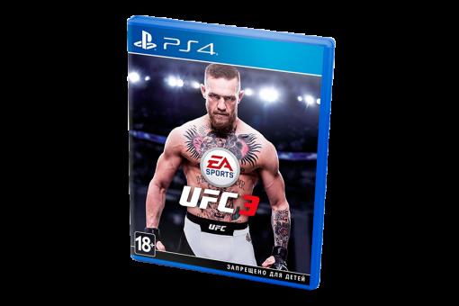 Диск с игрой EA Sports UFC 3 для Sony PlayStation 4
