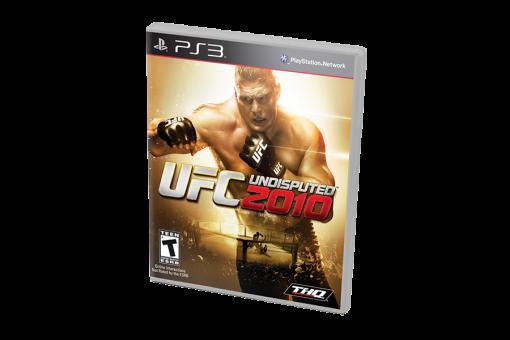 Диск с игрой UFC Undisputed 2010