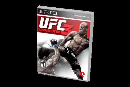 Диск с игрой UFC Undisputed 3