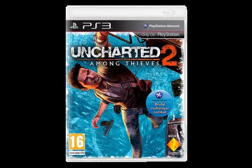 Диск с игрой Uncharted 2: Among Thieves