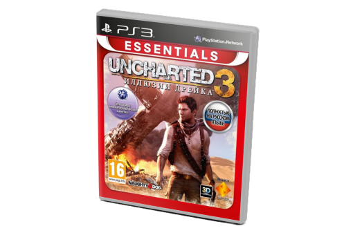 Диск с игрой Uncharted 2: Among Thieves