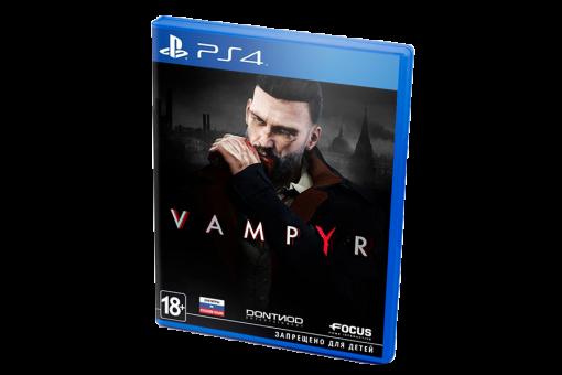 Диск с игрой Vampyr