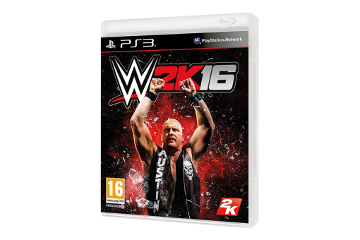 Диск с игрой WWE 2K16
