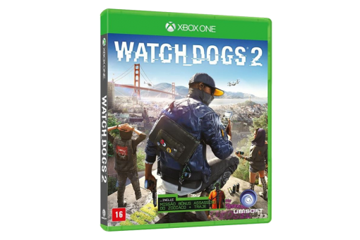 Диск с игрой Watch Dogs 2