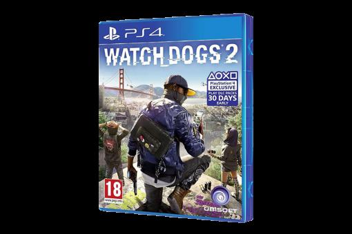 Диск с игрой Watch Dogs 2 для PlayStation 4