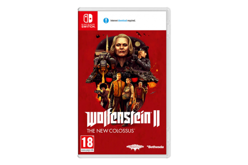 Картридж Б/У Wolfenstein II: The New Colossus для Nintendo Switch