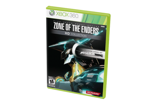 Диск с игрой Zone of the Enders HD Collection