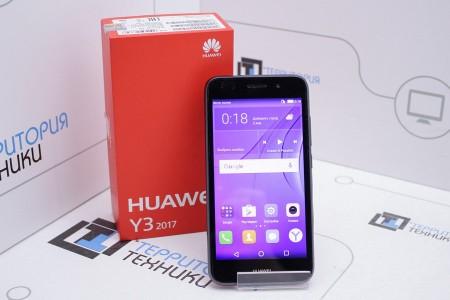 Смартфон Б/У Huawei Y3 2017 Gray