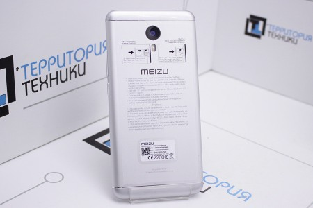 Смартфон Б/У MEIZU M3 Note 32GB Silver