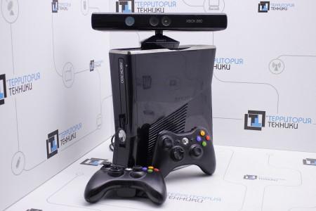 Приставка Б/У Microsoft Xbox 360 Slim 250GB + Kinect