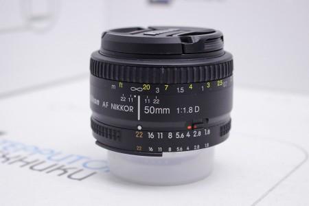 Объектив Б/У Nikon AF Nikkor 50mm f/1.8D