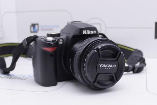 Nikon D60 + Yongnuo 50mm f/1.8