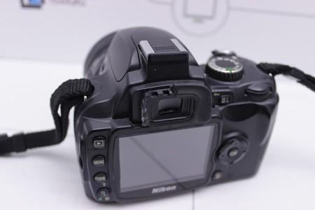 Фотоаппарат Б/У зеркальный Nikon D60 + Yongnuo 50mm f/1.8