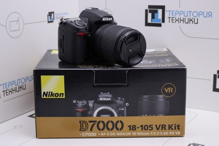 Фотоаппарат Б/У зеркальный Nikon D7000 Kit 18-105mm VR
