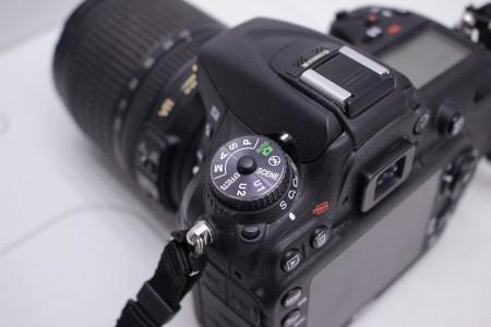 Фотоаппарат Б/У зеркальный Nikon D7100 Kit 18-105mm VR