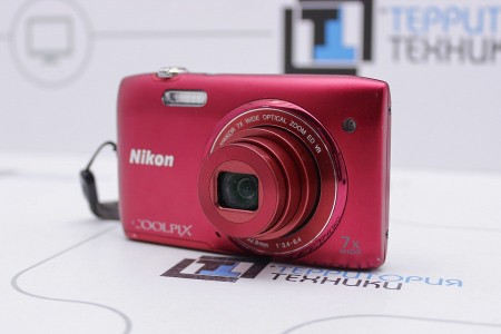 Фотоаппарат Б/У цифровой Nikon Coolpix S3500