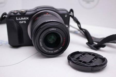 Фотоаппарат Б/У беззеркальный Panasonic Lumix DMC-GF5X Kit 14-42mm