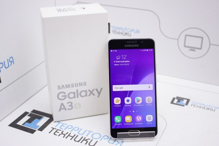 Смартфон Б/У Samsung Galaxy A3 (2016) Gold