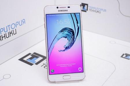 Смартфон Б/У Samsung Galaxy C7 32GB Rose Gold