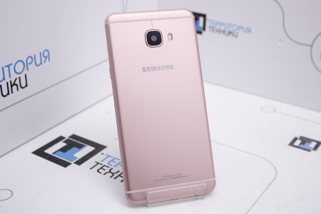 Смартфон Б/У Samsung Galaxy C7 32GB Rose Gold