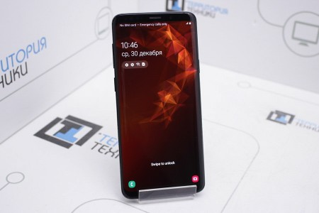 Смартфон Б/У Samsung Galaxy S9+ Single SIM 64GB Black