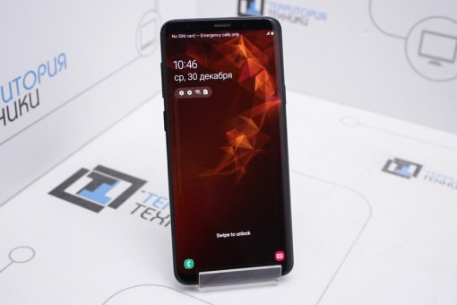 Samsung Galaxy S9+ Single SIM 64GB Black