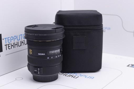 Объектив SIGMA 10-20MM F3.5 EX DC HSM Canon EF