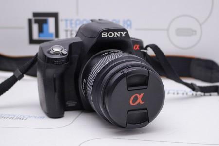Фотоаппарат зеркальный Б/У Sony Alpha DSLR-A290L Kit 18-55mm