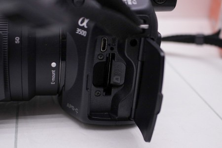 Фотоаппарат Б/У беззеркальный Sony Alpha a3500 Kit 18-50mm