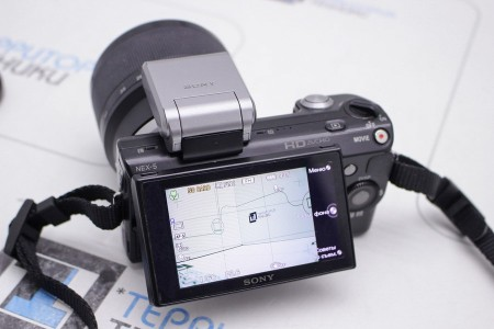 Фотоаппарат Б/У беззеркальный Sony Alpha NEX-5 18-50mm