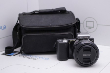 Фотоаппарат Б/У беззеркальный Sony Alpha NEX-5K Kit 18-55mm