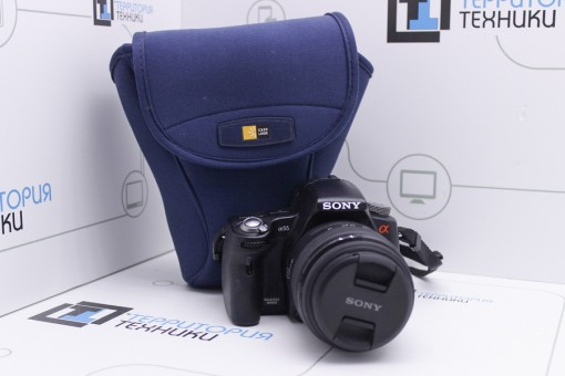 Sony Alpha SLT-A55V Kit 18-55mm II