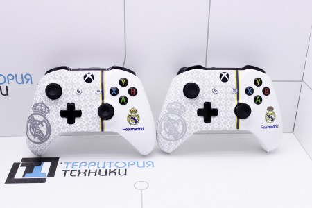 Приставка Б/У Microsoft Xbox One S 1Tb FC Real Madrid